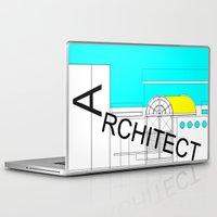 architect Laptop & iPad Skins featuring ARCHITECT-2 by Art-xigo