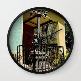 """Old """"Faro de luz"""" Wall Clock"""