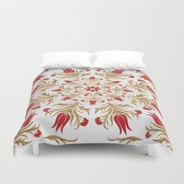 Turkish tulip - Ottoman tile 2 Duvet Cover
