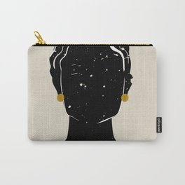 Black Hair No. 5 Carry-All Pouch