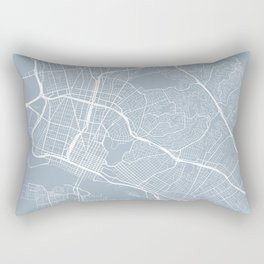 Oakland Map, USA - Slate Rectangular Pillow