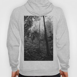Forest black and white 4 Hoody