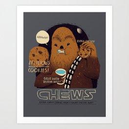 chews Art Print