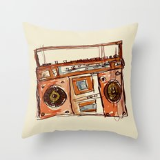 Sometimes I miss Technotronic Throw Pillow
