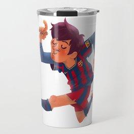 Lionel Messi, Barcelona Jersey Travel Mug