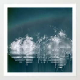 Icing Clouds Art Print
