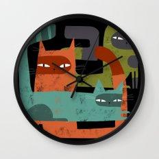 WHISKER BRACKETS Wall Clock