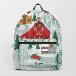 New England Christmas Backpack