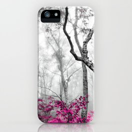 Princess Pink Forest Garden iPhone Case