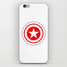 Capitaine Amérique iPhone Skin