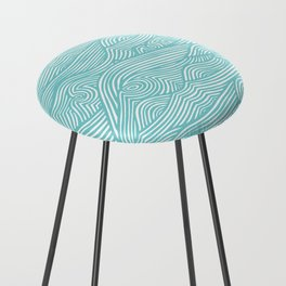 Waves Counter Stool