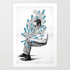 Written Art Print