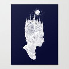 Princes Crown Canvas Print