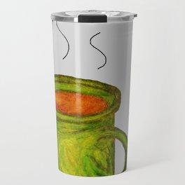 Green mug Travel Mug