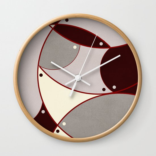 Textures/Abstract 100 Wall Clock