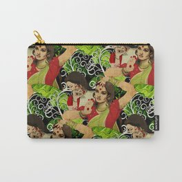 Aishwarya Pattern Carry-All Pouch