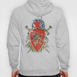 Griffin Shield - Swords - Coat of Arms Hoody