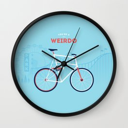 Weirdo Wall Clock