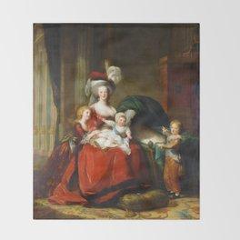 Marie-Antoinette and her Children (1787) Throw Blanket