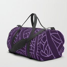 Microcosm in Purple Duffle Bag