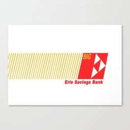 Erie Savings Bank (Red) Canvas Print