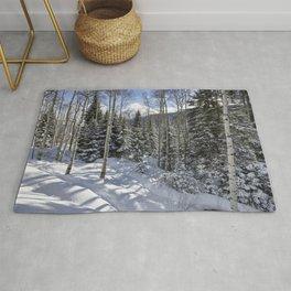Winter forest - Carol Highsmith Rug
