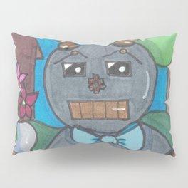 First Date Jitters Bot Pillow Sham