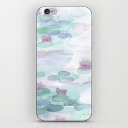 Monet Lily pads iPhone Skin