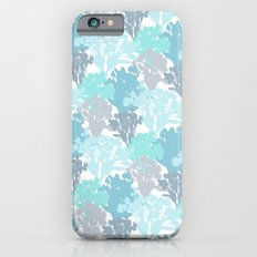 Acer Bouquets - Blues iPhone 6s Slim Case