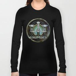 """""""Astrological Mechanism - Libra"""" Long Sleeve T-shirt"""