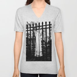 Memories Of A Ghost Unisex V-Neck