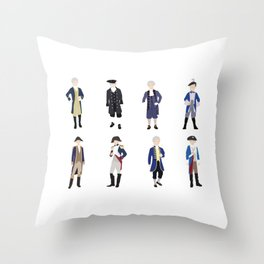 National Confederacy Heroes Day Throw Pillow