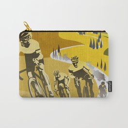 Strade Bianche retro cycling classic art Carry-All Pouch