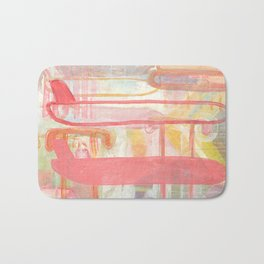 Layers And Chevrons Bath Mat
