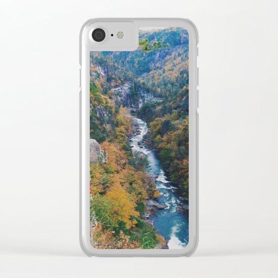 Fall Creek Clear iPhone Case