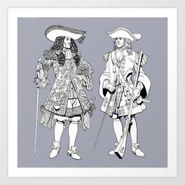 Muskets Art Print