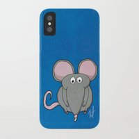 mouse iPhone & iPod Cases featuring Mouse by Rafael Martinez