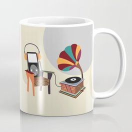 Retro Music Playlist II Coffee Mug