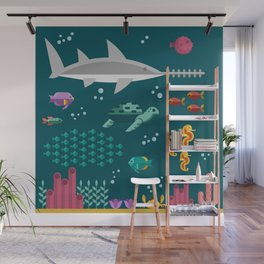 Sea animals Wall Mural