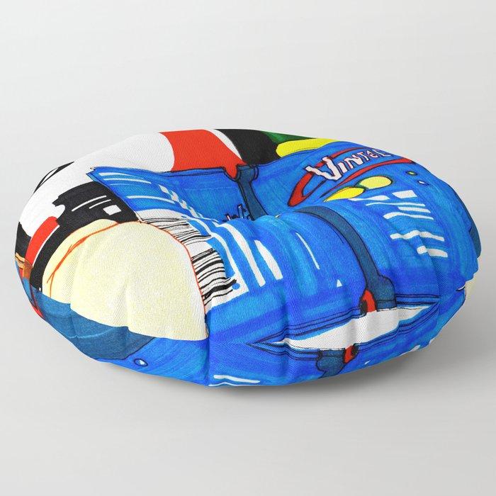 Fizz Floor Pillow