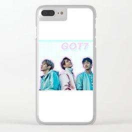 GOT7 Clear iPhone Case