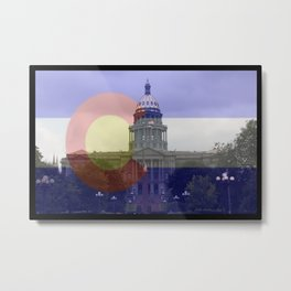 Colorado proud native life 5280 Metal Print
