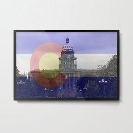 Colorado proud native life 5280 Metal Print