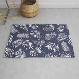 Leaves of palm tree Rug