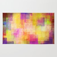 carnival Area & Throw Rugs featuring Carnival by SensualPatterns