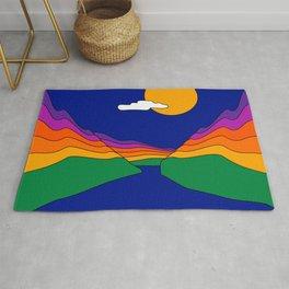 Rainbow Ravine Rug