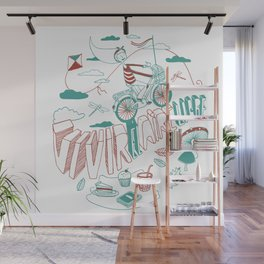 Aire libre Wall Mural