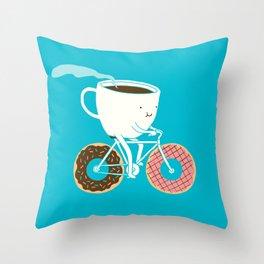 Coffee and Donuts Deko-Kissen