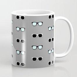 All Them Glasses - Grey Coffee Mug
