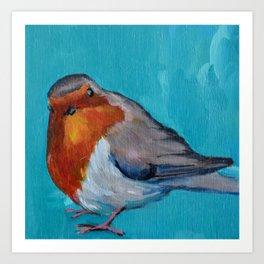 7b8cf5e7ba613 Fat Bird Art Prints   Society6